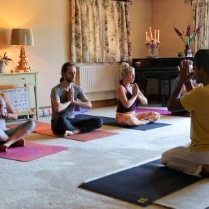 Indoor Yoga Practice