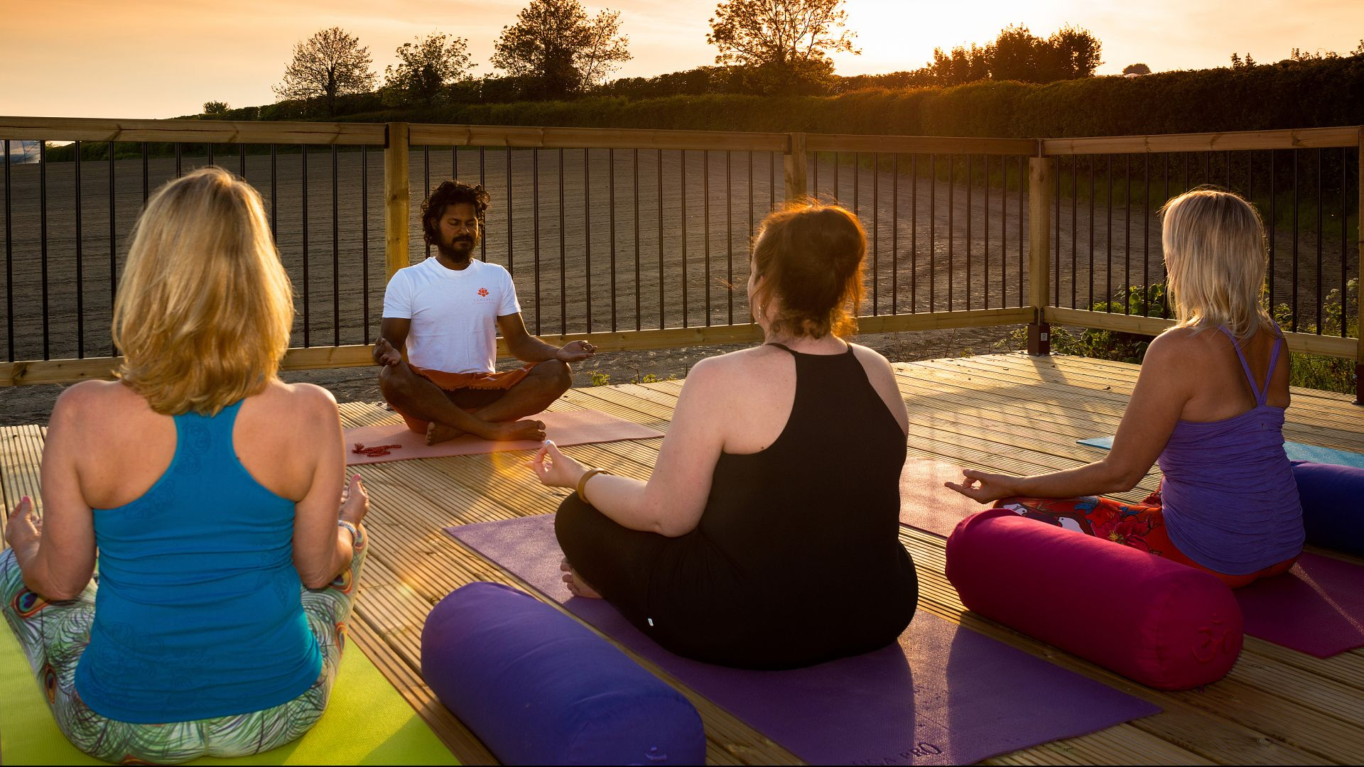 Trained Yoga Professionals - Here to help you every step of the way.