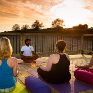 Yoga at Sunset with Dipu